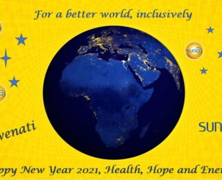 Happy New Year 2021, Health, Hope and Energy!